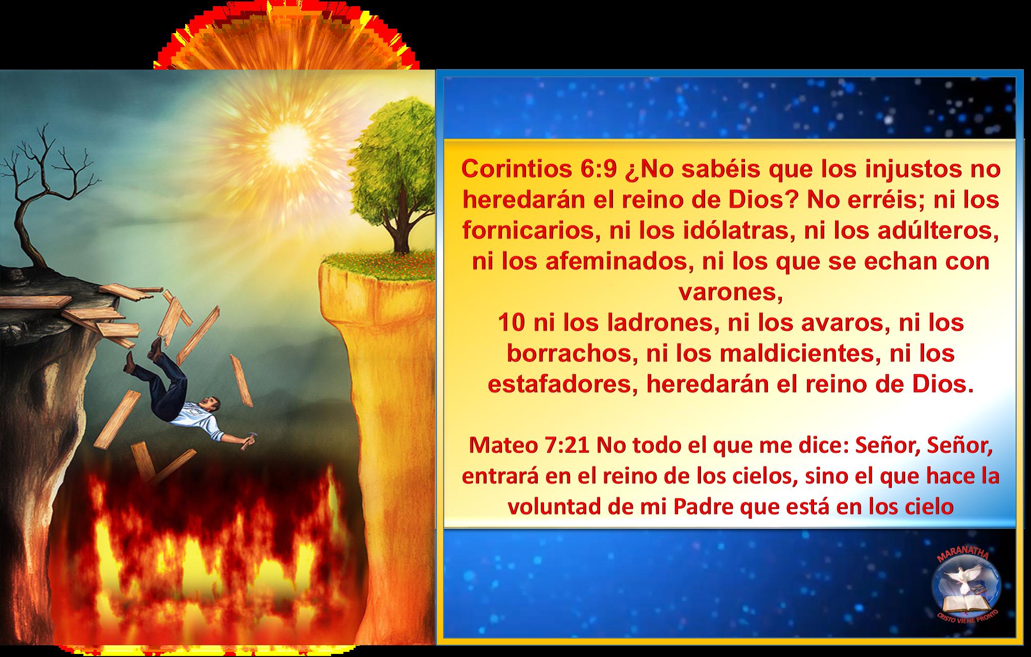 Corintios 6 9 10 Mateo 7 21 Jo Playbill Pandora Screenshot