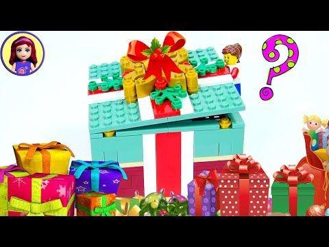 Lego Christmas Gift Box Build Review Kids Toys Youtube Vidéo
