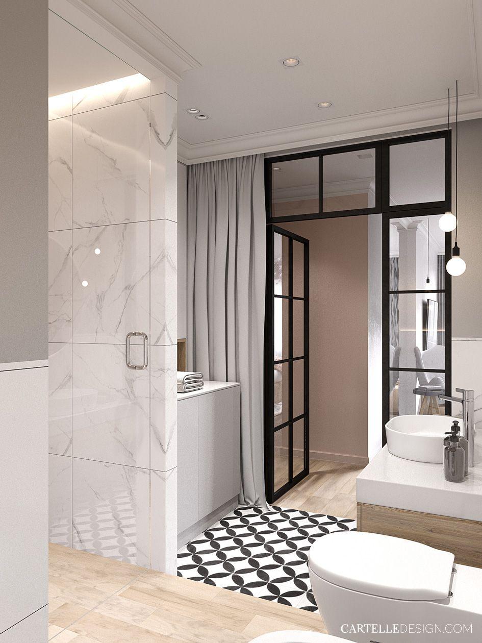 CARTELLE DESIGN  Дизайн интерьера ванной комнаты, Ванная стиль