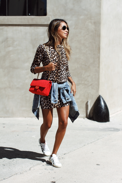 Feelin\' saucy in this leopard Equipment dress from @nordstrom http ...