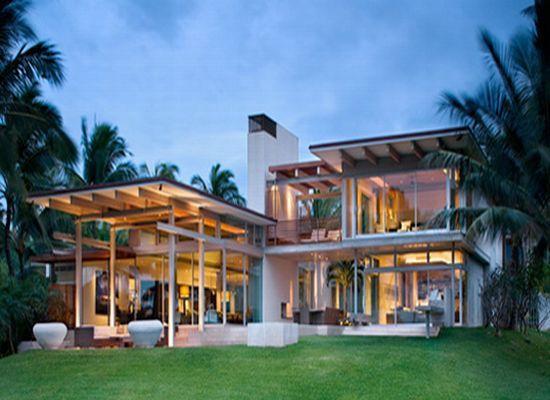 25 Stunning Tropical House Design Ideas Http Tyuka Info 25 Stunning Tropical House Design Idea Tropical House Design Beach House Design Luxury House Designs