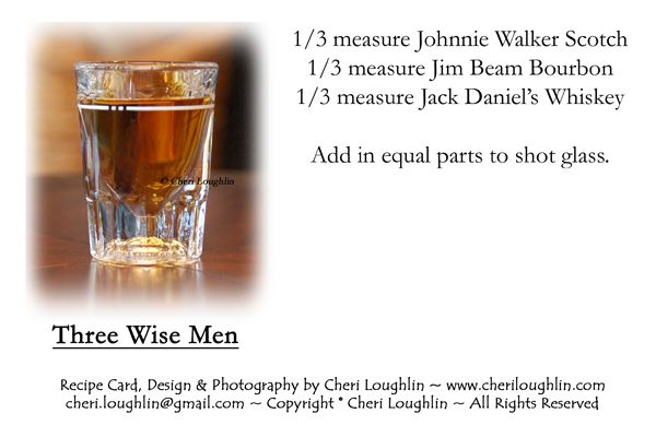 Three Wise Men Shot Three Wise Men Drinks Alcohol Recipes