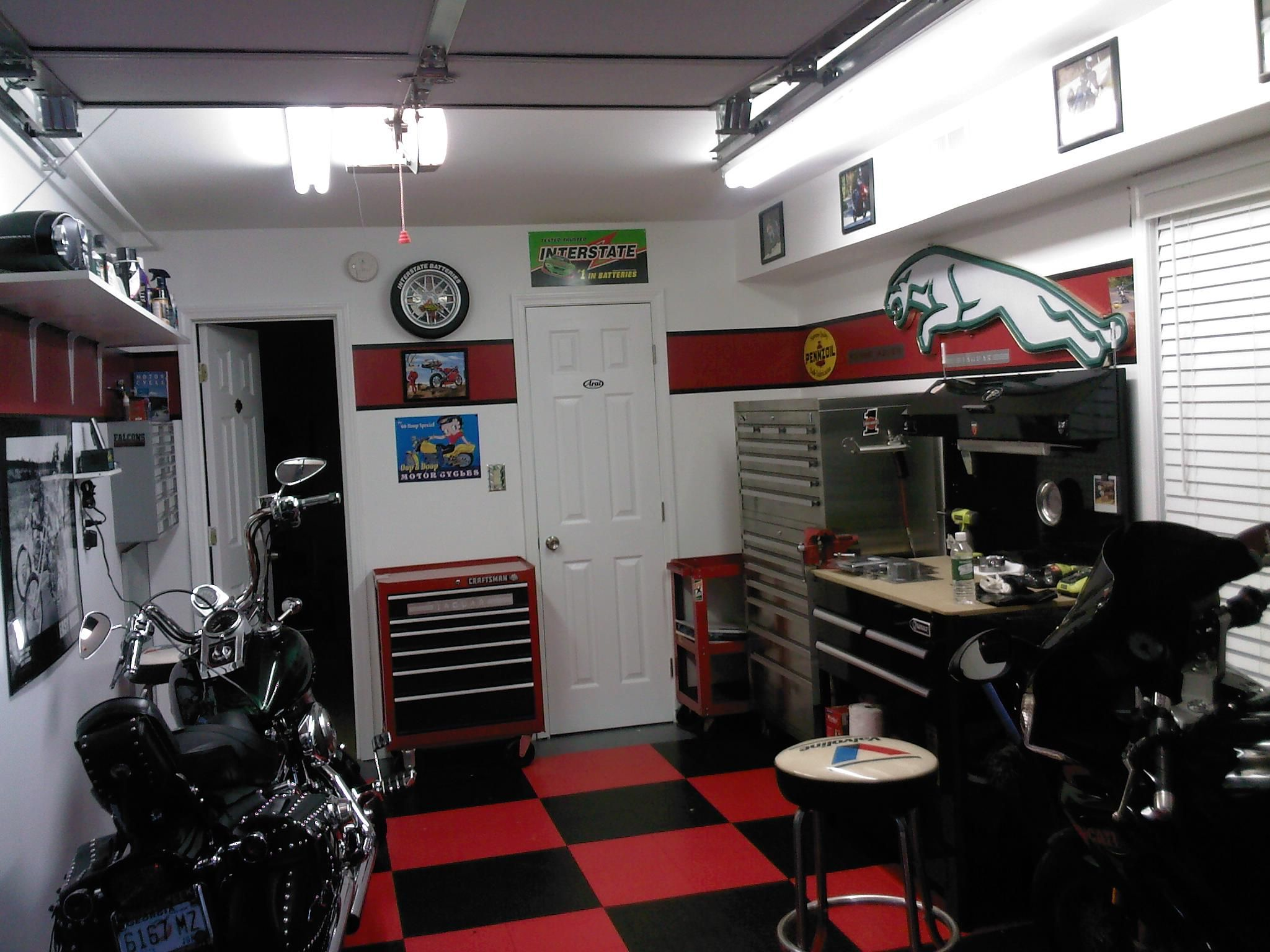 1 Car Garage Workshop Ideas Google Search Workshop Man Cave Pinterest Garage Workshop