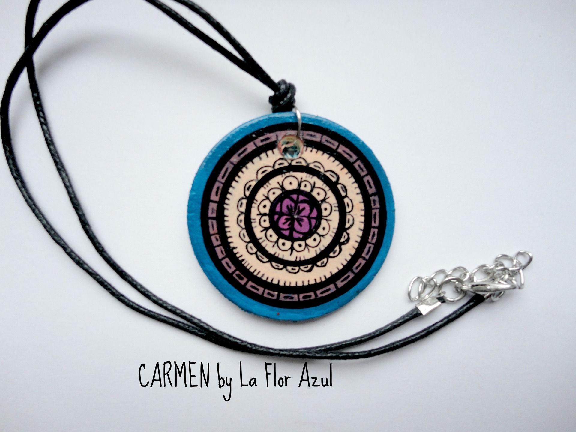 Collezione Chicas Collana Carmen : Collane di la-flor-azul