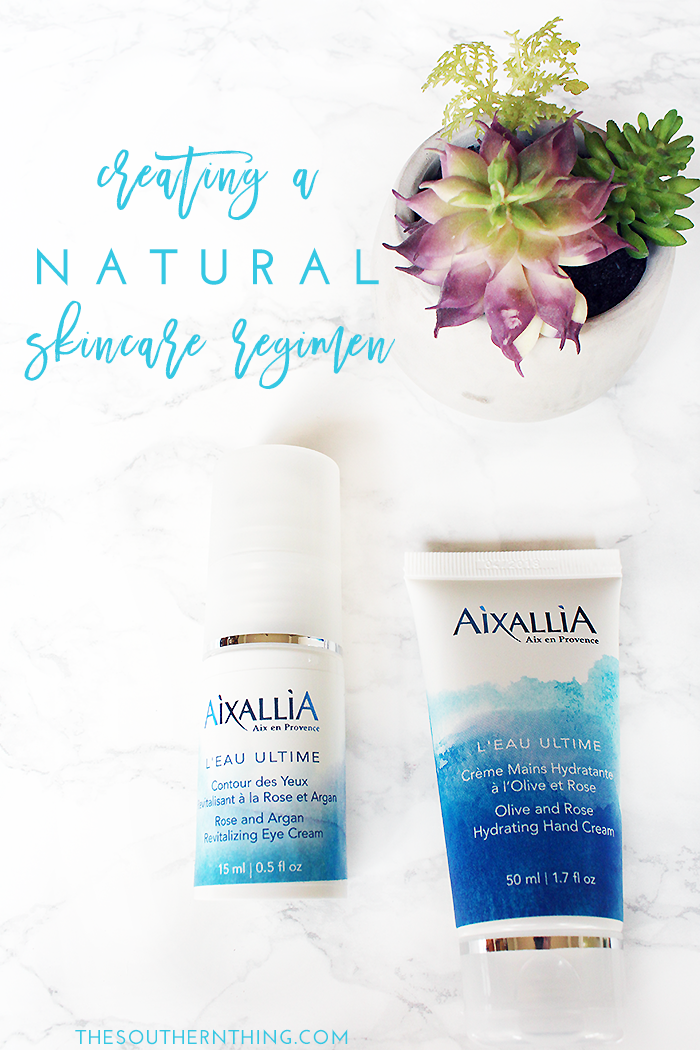 Creating A Natural Skincare Regimen With Aixallia The Southern Thing Skin Care Regimen Natural Skin Care Skin Care