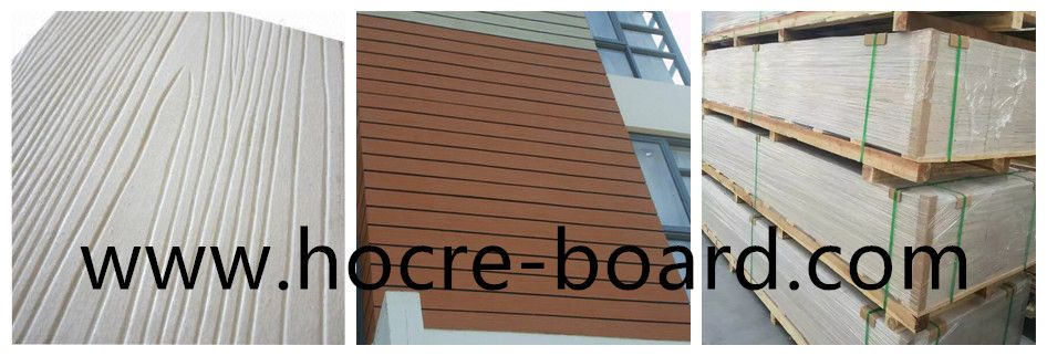 China Fireproof Fibre Cement Cladding Planks Fibre Cement Cladding Fiber Cement Fiber Cement Board