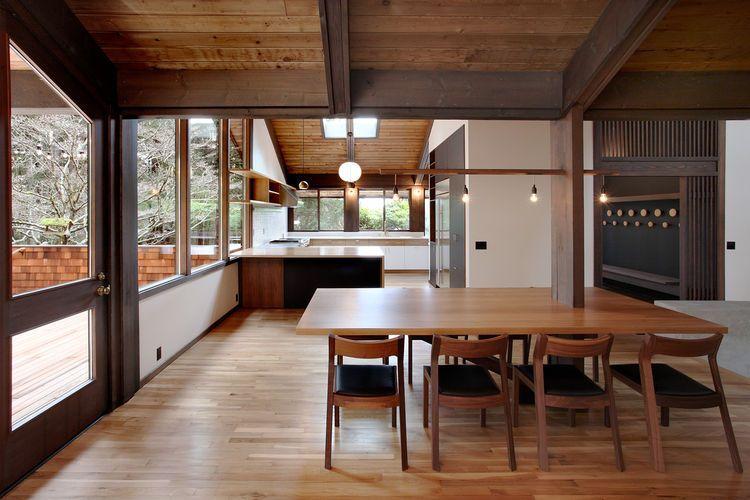 Best Japanese Inspired Bainbridge Island House Dining Room And 640 x 480