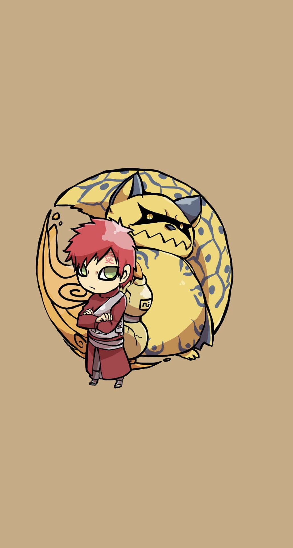 Gaara And Shukaku The Ichibi