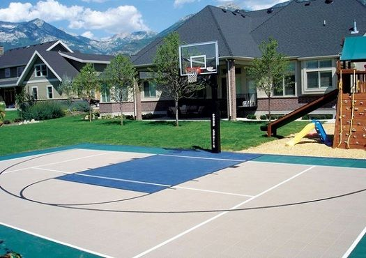 Home Upgrades To Avoid Basketball Court Backyard Outdoor Basketball Court Home Basketball Court