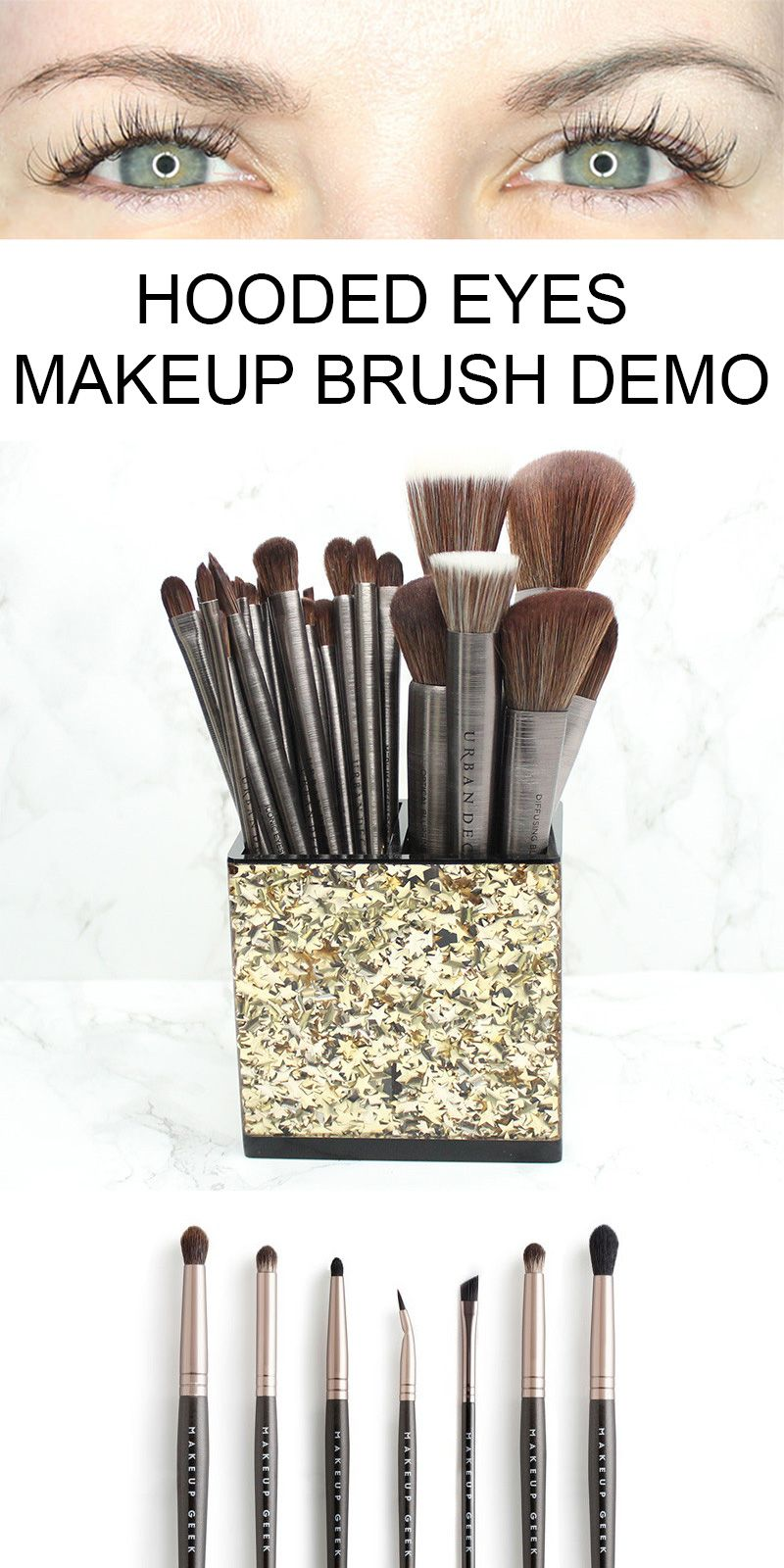 What Are Hooded Eyes Makeup Brush Demo Eye makeup