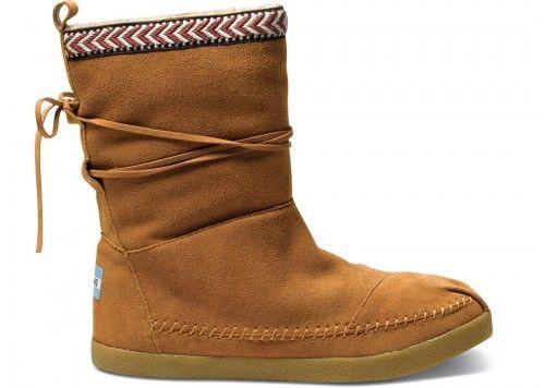 1c7de0cc5ba Chestnut Suede Trim Women s Nepal Boots