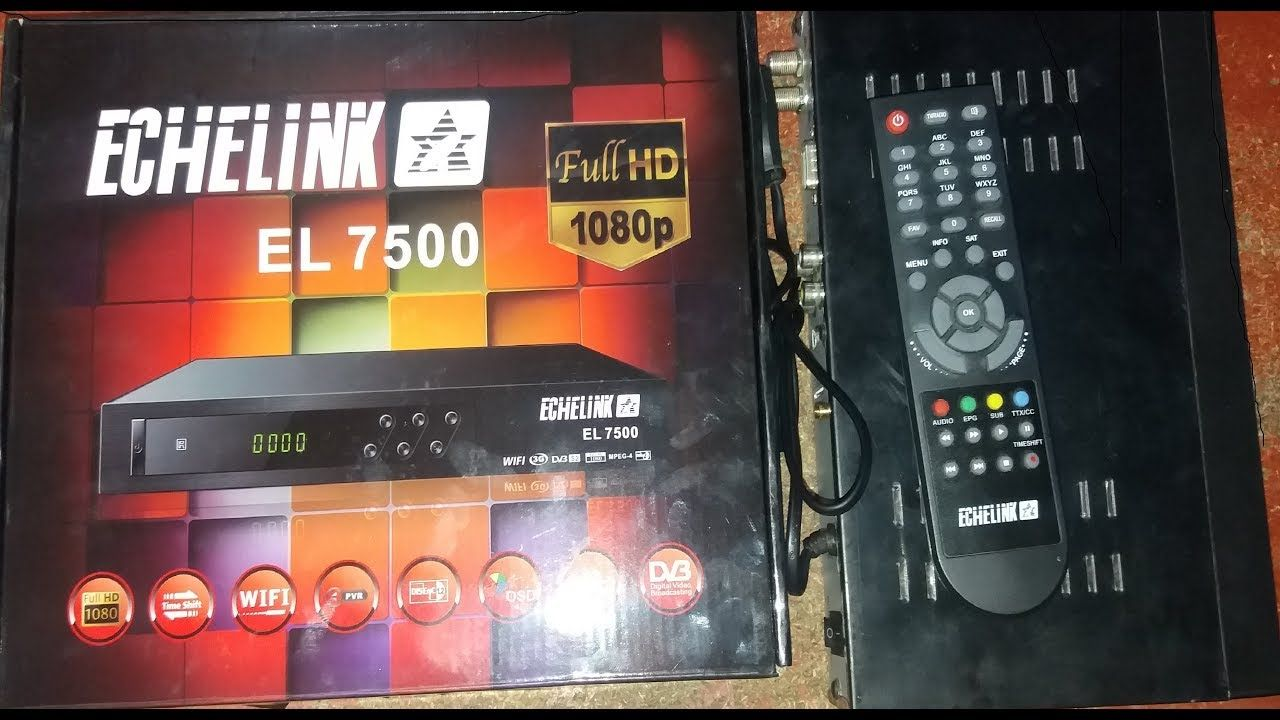 echolink 7500 full hd 1080p sim Receiver Review 2018 | How To Dish
