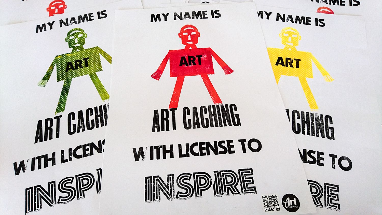 Art Caching, with a license to inspire – Letterpress på Rundqvist & Co