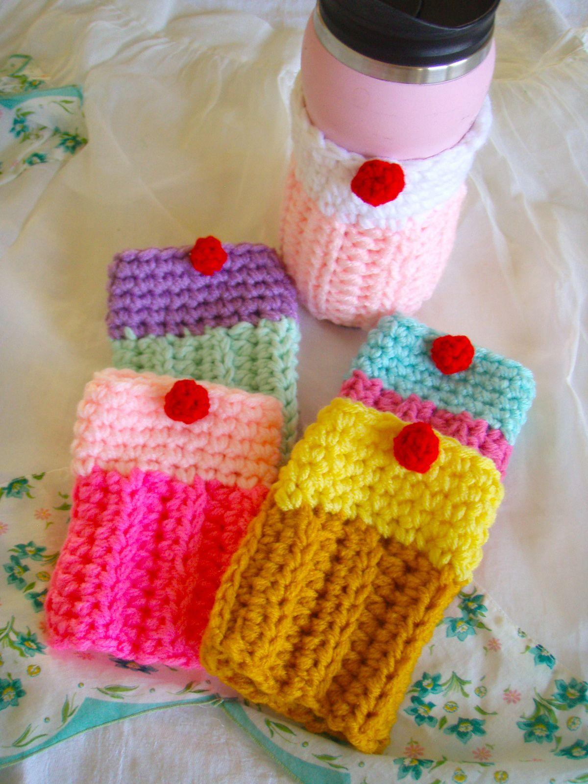 Park Art|My WordPress Blog_Iced Coffee Koozie Crochet Pattern