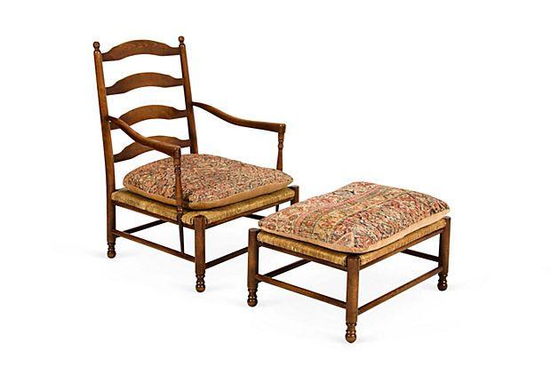 rush chair seat cushions. champagne chair w/ ottoman -\ rush seat cushions