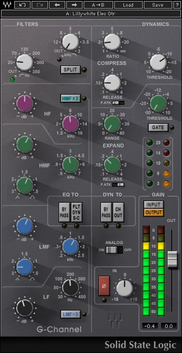 Ssl G Channel Channel Strips Waves Plugins Ssl