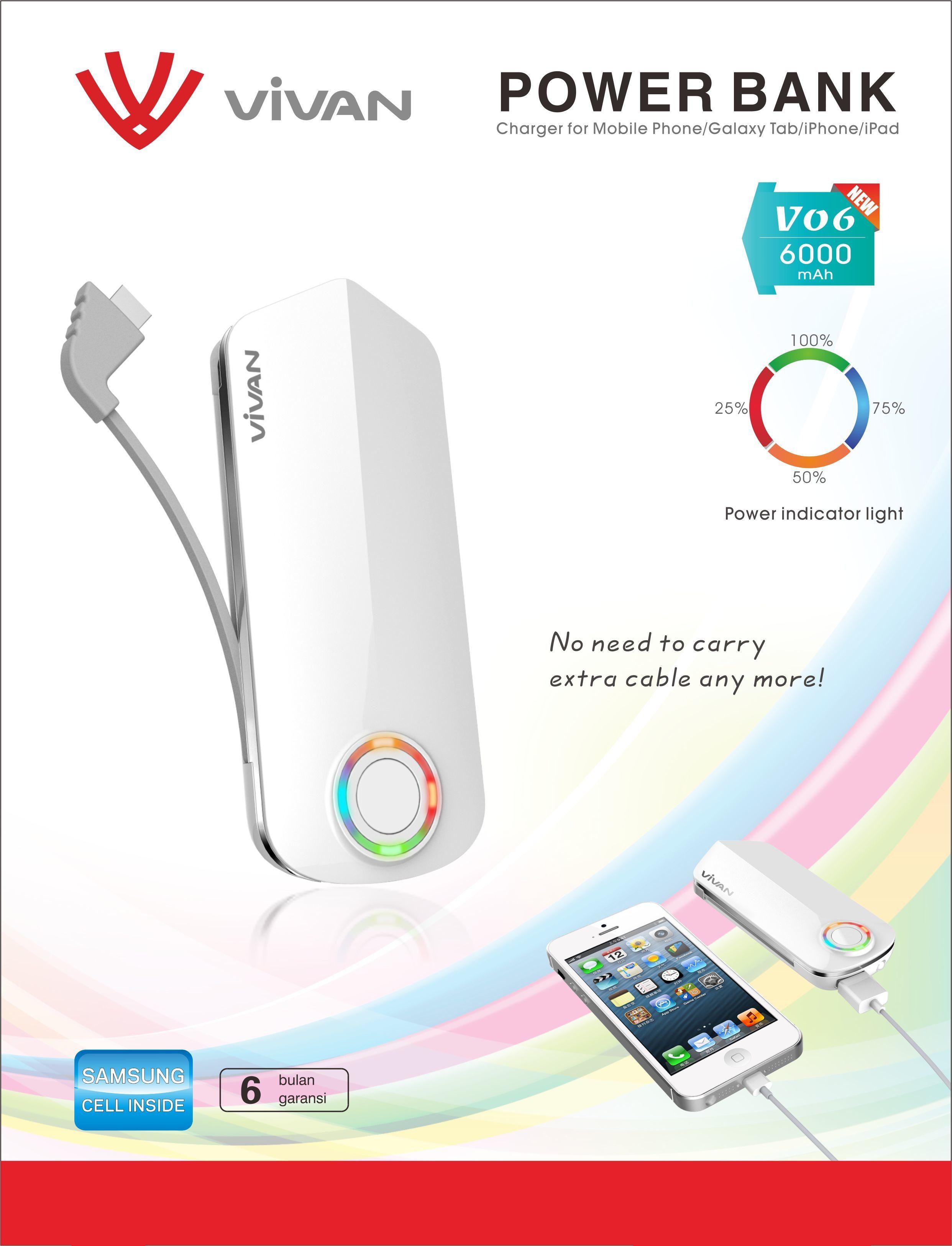 Daftar Harga Power Bank Vivan Terbaru 2015 Ponsel Elektronik