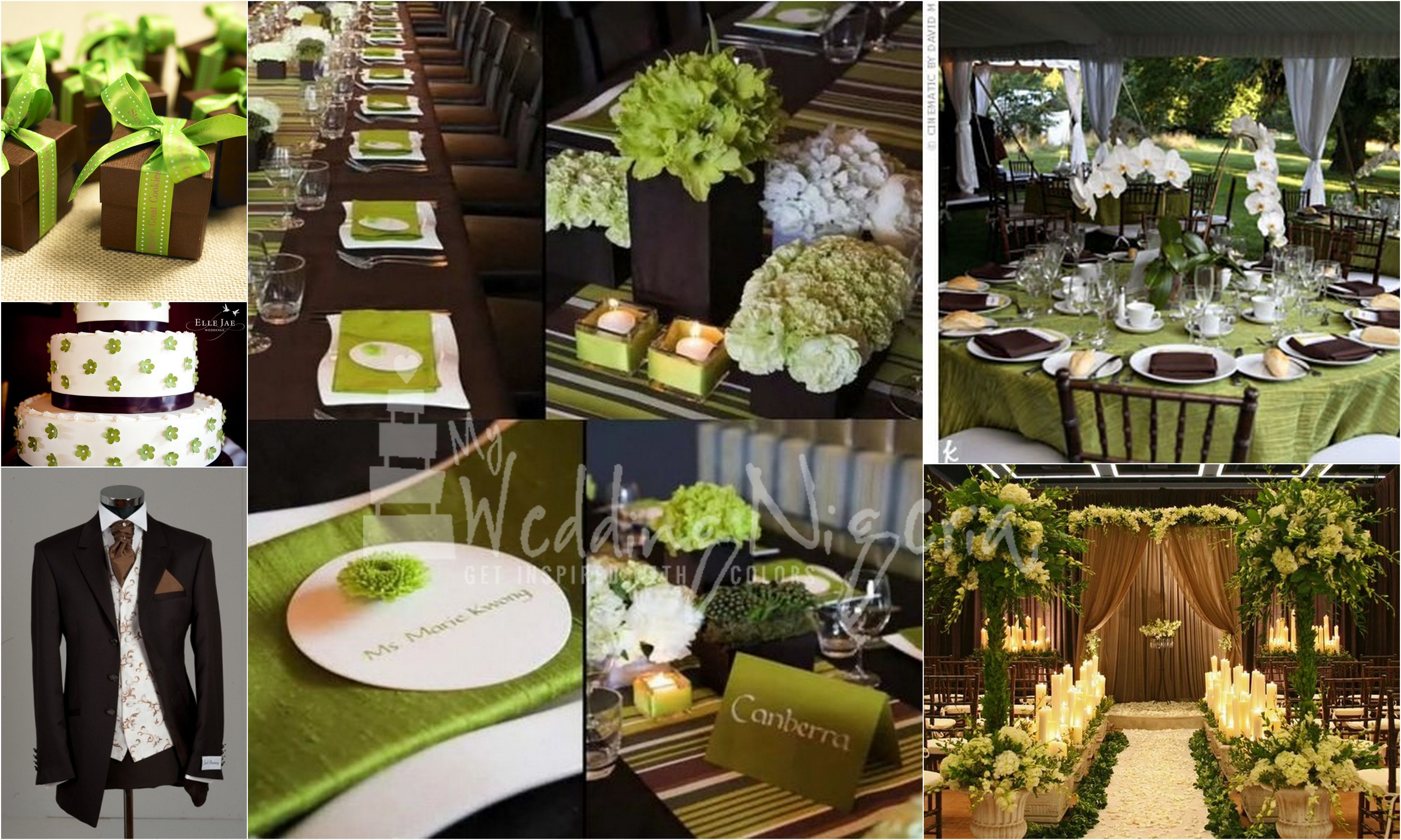 Beautiful Pictures Of Items In The Color Green Wedding Color