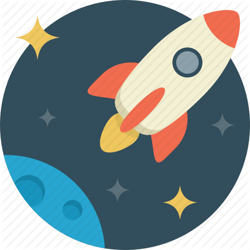Fly Startup Spaceship Rocket Space Icon Download On Iconfinder Space Icons Spaceship Illustration Fun Illustration