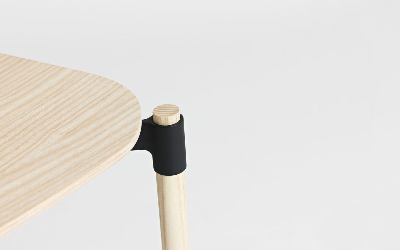 3D프린팅(금속)을 이용한 조인트. 테이블이나 의자 제작