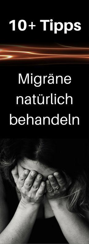 10+ Tipps – Migräne natürlich behandeln