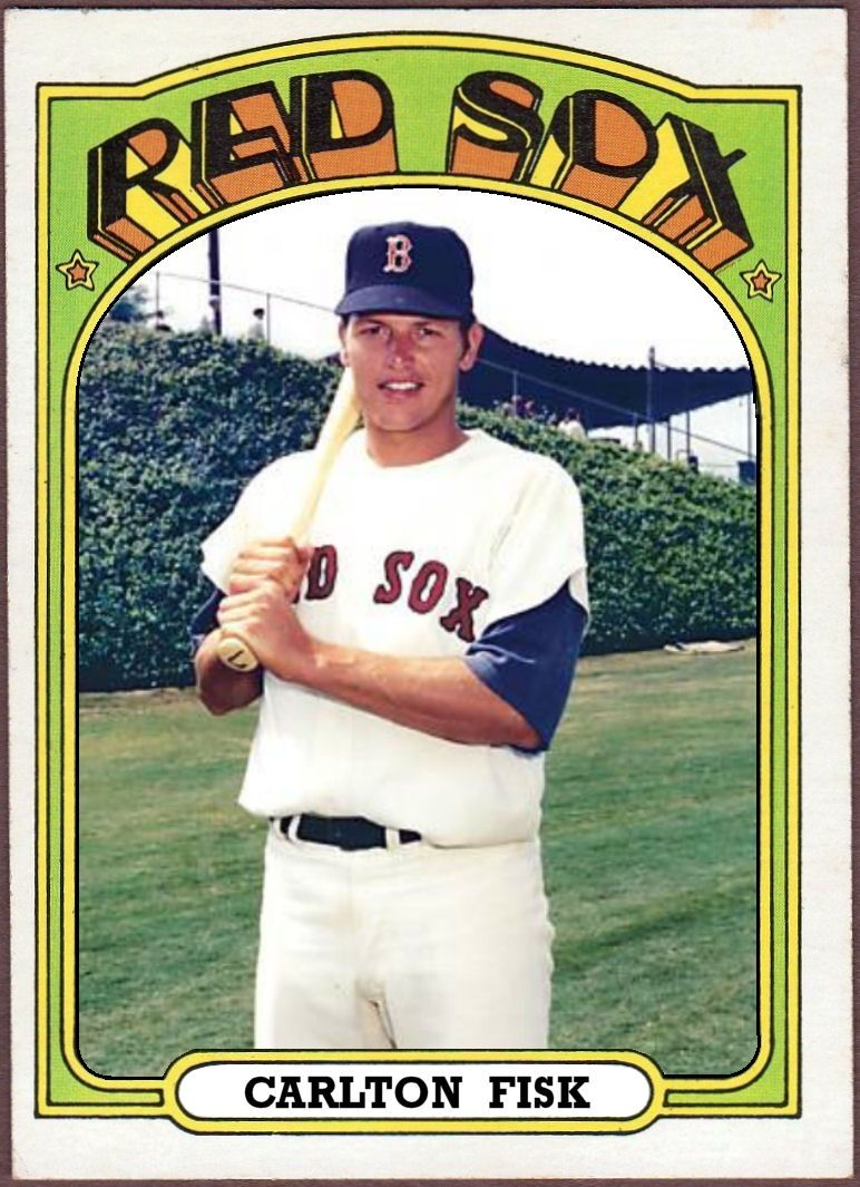 Cards That Never Were 1972 Topps Carlton Fisk Baseball Cards Old Baseball Cards Baseball