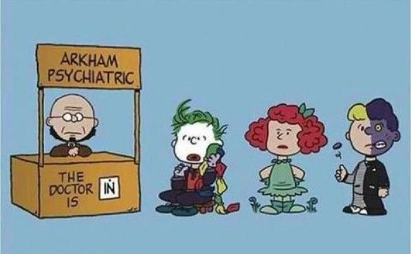 Arkham.... the doctor is in