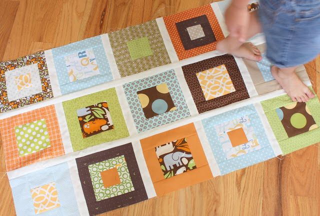 Diary of a Quilter - a quilt blog: Progress on a nephew's quilt - and summer living