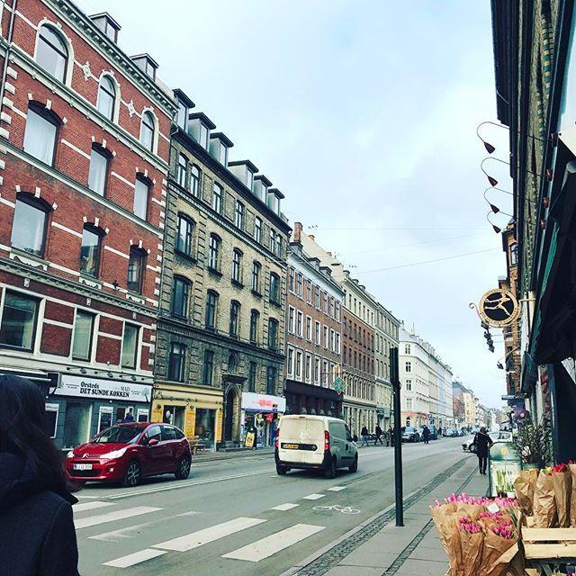 넘나도 예쁜 #코펜하겐거리 #북유럽 겨울은 만만치않다😩 찬바람에 후덜덜 #cophenhagen #road