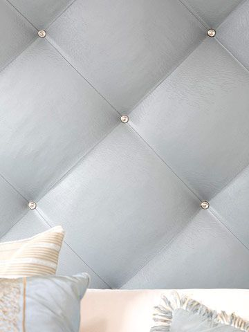 How To Diy This Chic Upholstered Wall Things I Want To