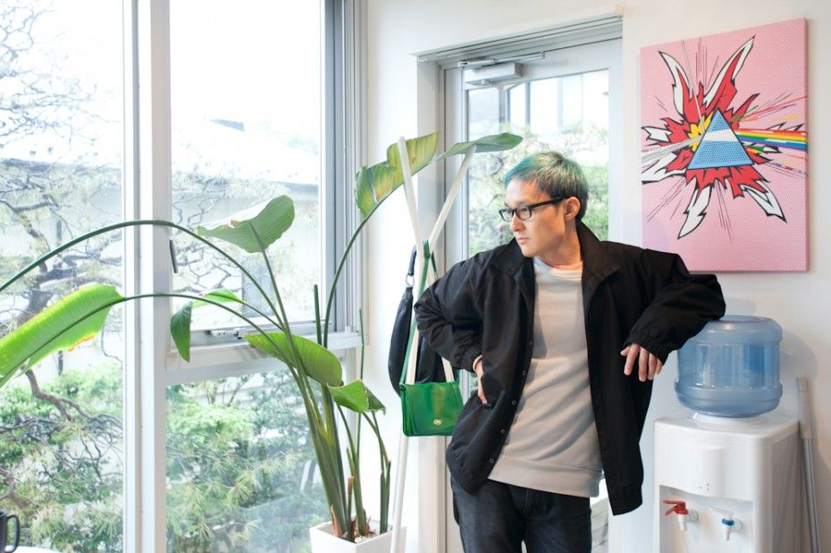 Kurando Furuya — Editor, Apartment and Studio, Shibuya and Akihabara, Tokyo (© Kazue Kawase für Freunde von Freunden)