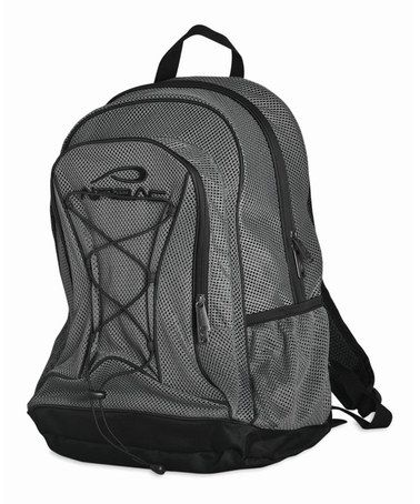 Love this Gray Mesh Backpack on #zulily! #zulilyfinds