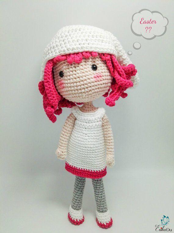 Amigurumi Doll Pattern / Crochet Doll Pattern /PDF pattern/Crochet ...