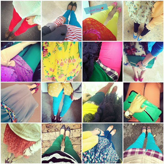 Colored Outfits