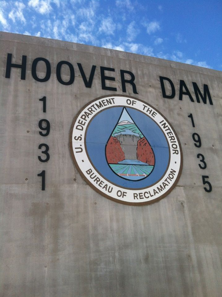PJO Challenge: Day 14: Favorite location from a quest. This took me a long time... then I remembered Hoover Dam, where all the dam jokes started!! XD