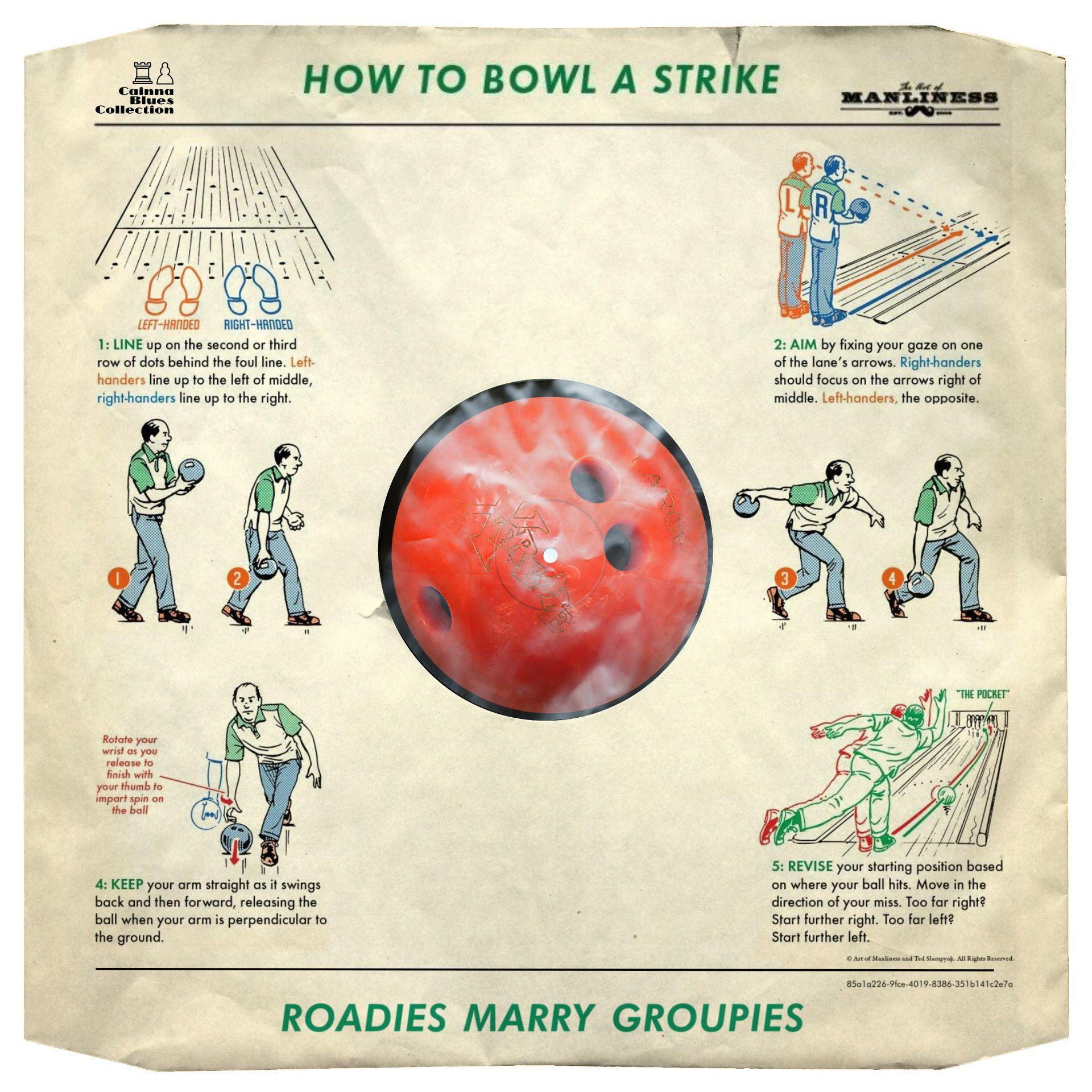 Roadies Marry Groupies How To Bowl A Strike Dust Sleeve Roadies Groupies Strike