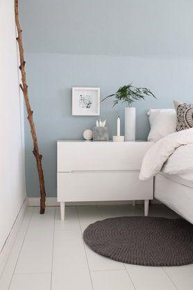 Ideen Und Inspirationen Für Dein Schlafzimmer | Wandfarbe ... Schlafzimmer Skandinavisch Gestalten