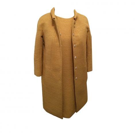 Tailleur robe TARA JARMON 38 (M, T2) ocre - 7396638
