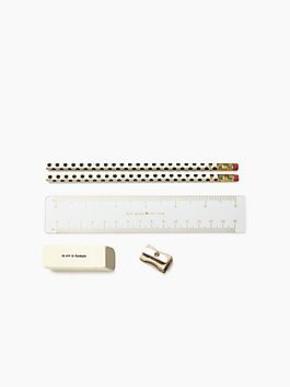 Gold Dots Pencil Pouch by kate spade new york