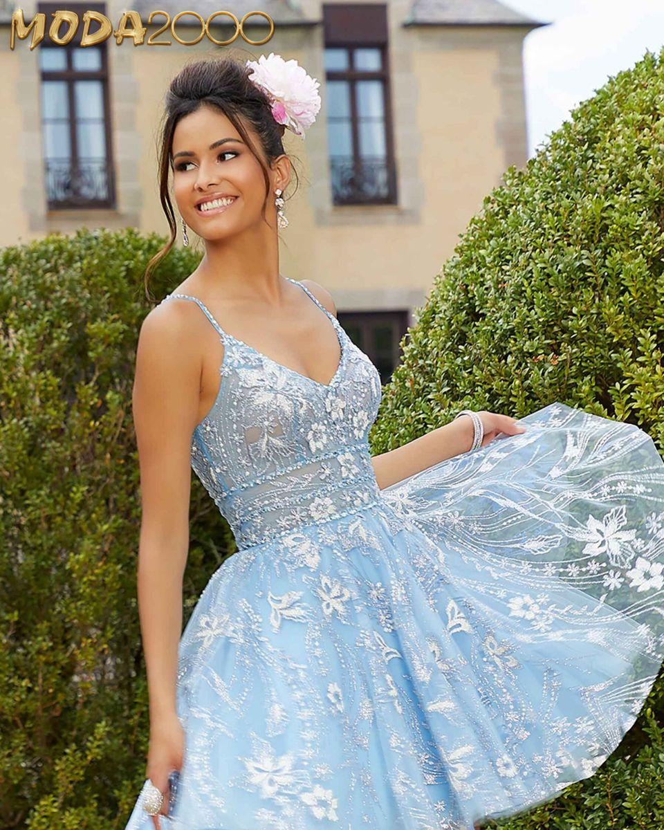 Baby Blue Cinderella Themed Dama Dress In 2021 Pretty Party Dresses Dama Dresses Dresses [ 1200 x 960 Pixel ]