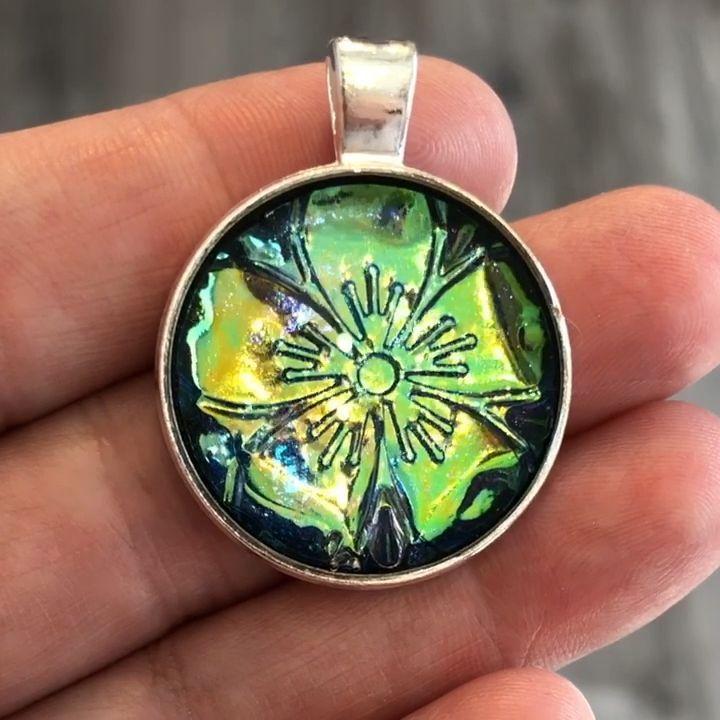 Next Tutorial Holo Boho Flower Pendant Jewelry ékszerek