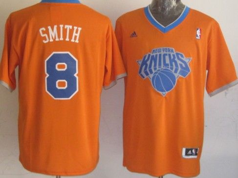 7cd75c56d8e New York Knicks  8 J.R. Smith Revolution 30 Swingman 2013 Christmas Day Orange  Jersey Camisas