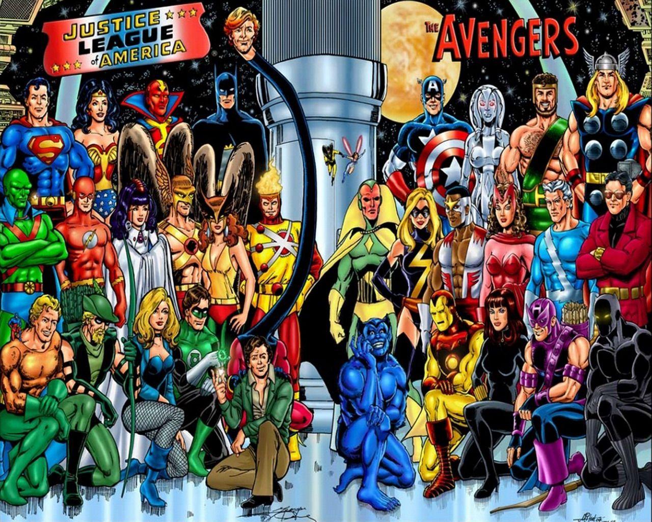 Avengers Pinterest: JLA & Avengers