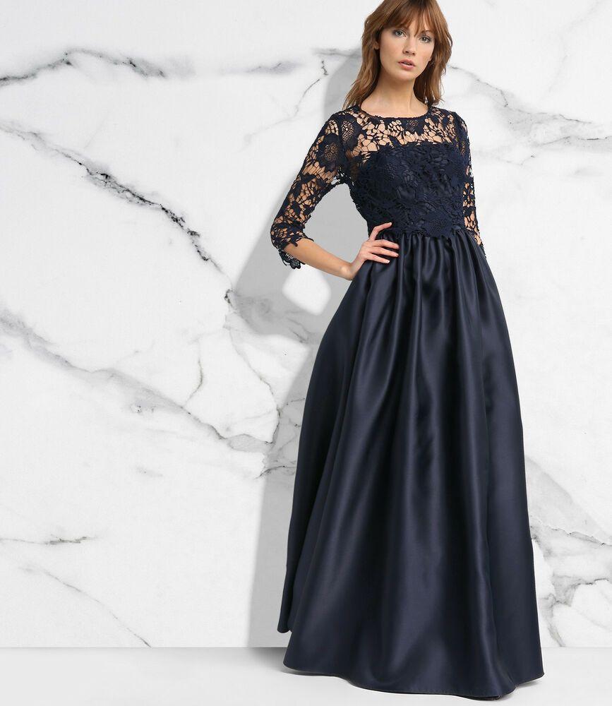 APART Maxikleid NEU Spitzenkleid Ballkleid Abendkleid Taft lang