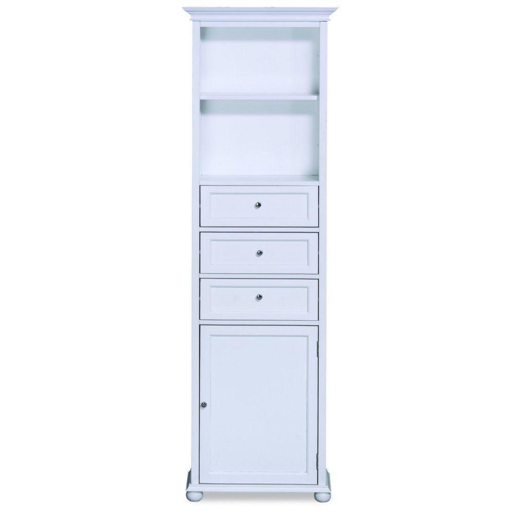 Hampton Bay 22 Linen Cabinet White Cabinets Matttroy