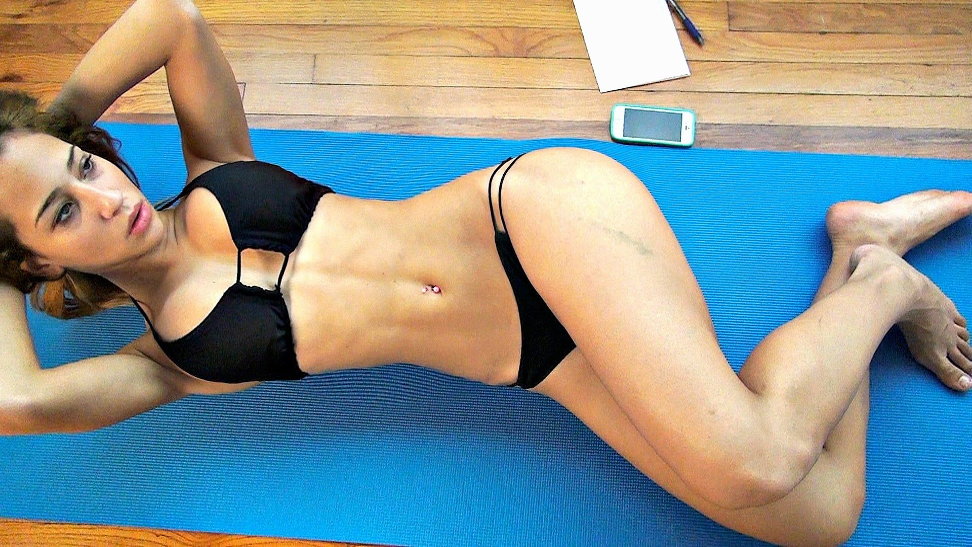 Girls Bikini Home Abs Workout for Sexy Stomach!! | Healthy