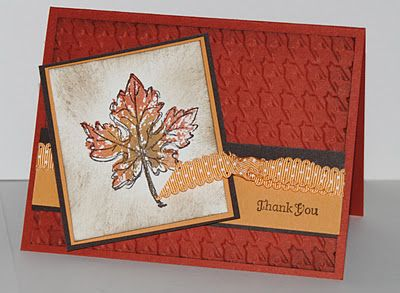 Jill's Card Creations: Gently Falling 11-27-2011 post