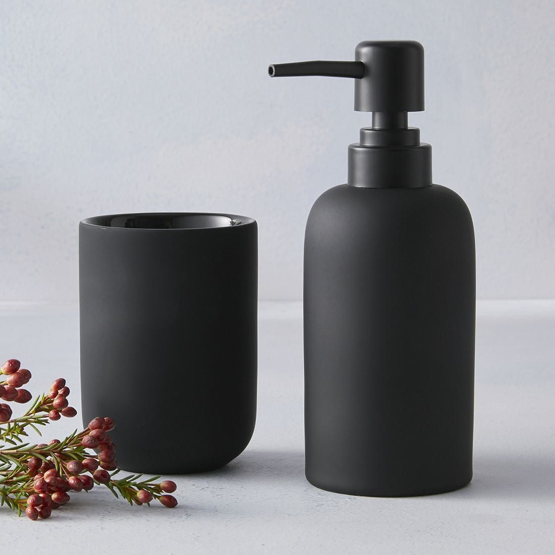 Matte Magic Matte Black Bathroom Accessories Black Bathroom