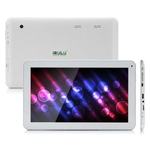 Irulu 10 1 Android 5 1 Lollipop 10 Inch Tablet Pc 8g Quad Core Gms White Bt New