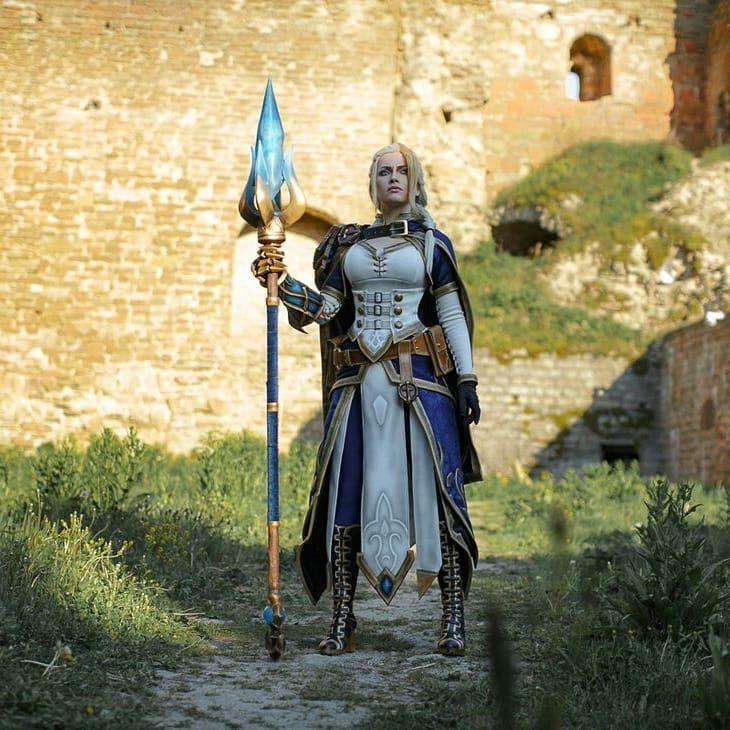 Vestiti Eleganti World Of Warcraft.Jaina Proudmoore Cosplay Follow Narga Lifestream At
